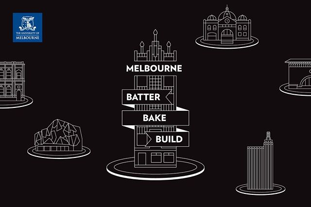 Batter. Bake. Build. Melbourne's very own Great Architectural Bake-off. Nothing like a competitive design-off. We loved working on this one with @msdsocial